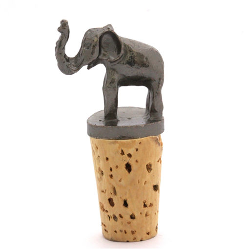Picture of Bottle Stopper - Baby Elephant