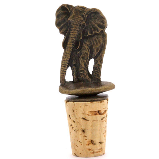 Picture of Bottle Stopper - Elephant