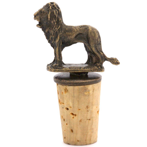 Picture of Bottle Stopper - Lion