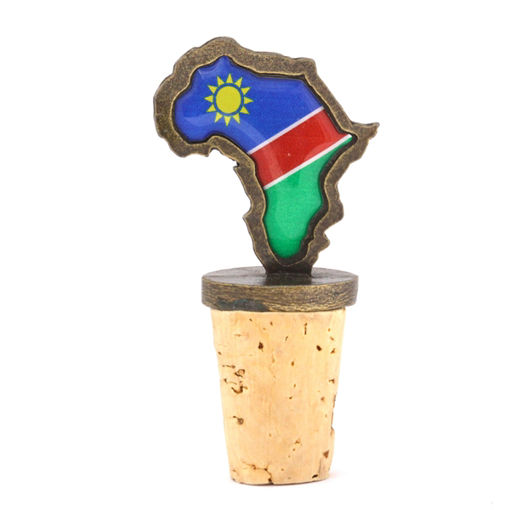 Picture of Bottle Stopper - Namibian Flag
