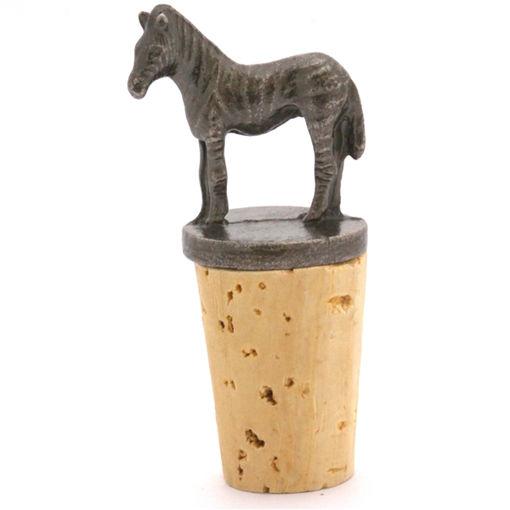 Picture of Bottle Stopper - Zebra