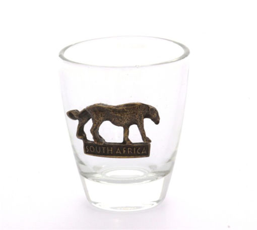 Picture of Tot Glass - Cheetah