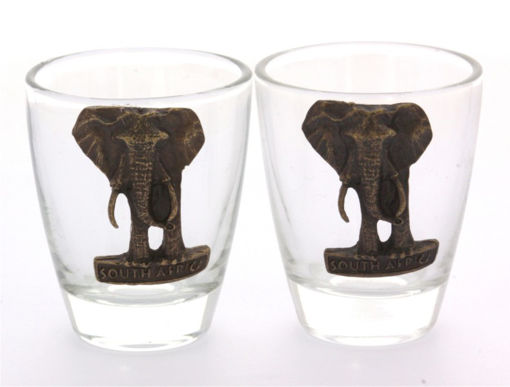Picture of Tot Glass - Set of 2 (Elephants)
