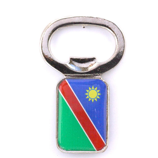 Picture of Bottle Opener - Namibian Flag (Magnetic)