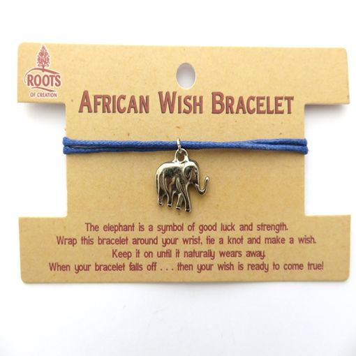 Picture of Bracelet - African Wish (Elephant)