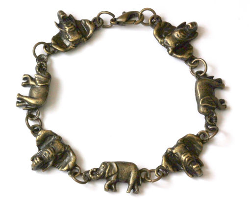 Picture of Bracelet - Metal (Elephant Head/Body)