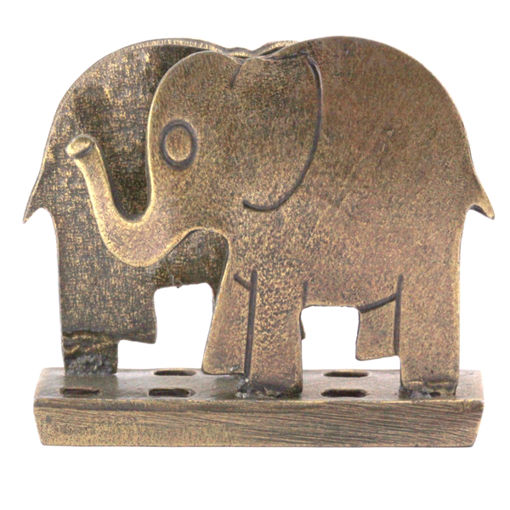 Picture of Business Card Holder - Elephant