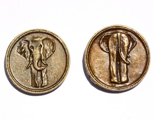 Picture of Decision Making Coin - Elephant Heads / Tails