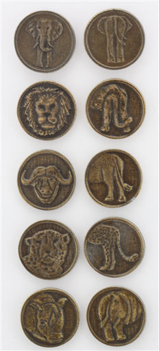 Picture of Decision Making Coin - Big 5 (Set of 5)