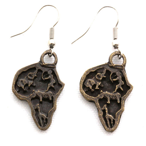 Picture of Earrings - Africa