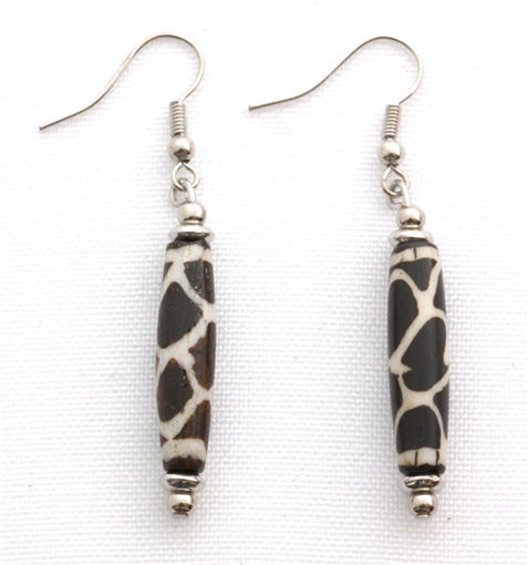 Picture of Earrings - Bone