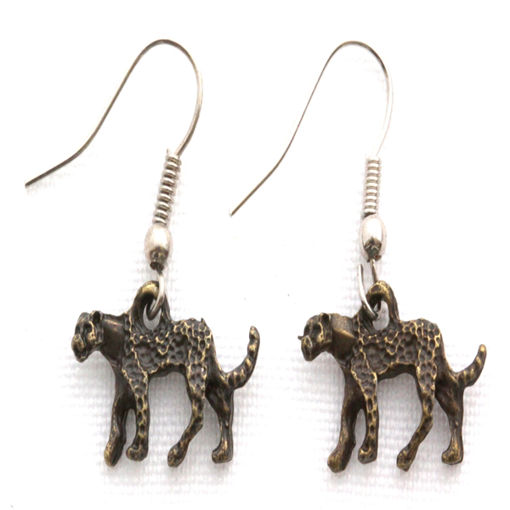 Picture of Earrings - Cheetah