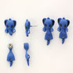 Picture of Children's Earrings - Elephant (Head/Tail)