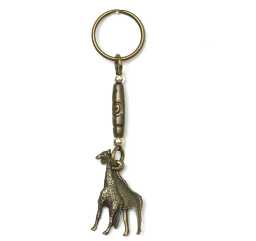 Picture of Key Ring - Double Sided (Giraffe)