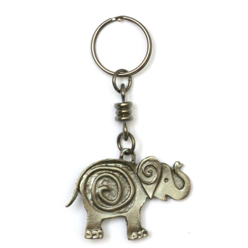 Picture of Key Ring - Single (Elephant Twirl)
