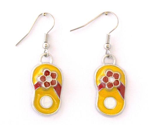 Picture of Children's Earrings - Flip Flop