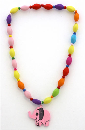 Picture of Children's Necklace - Elephant