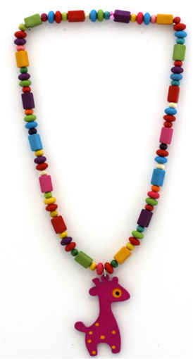 Picture of Children's Necklace - Giraffe