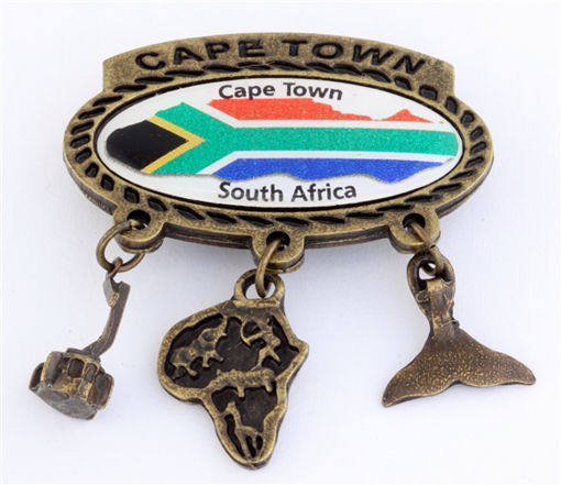 Picture of Magnet - Charmed (Cape Town / SA Flag)