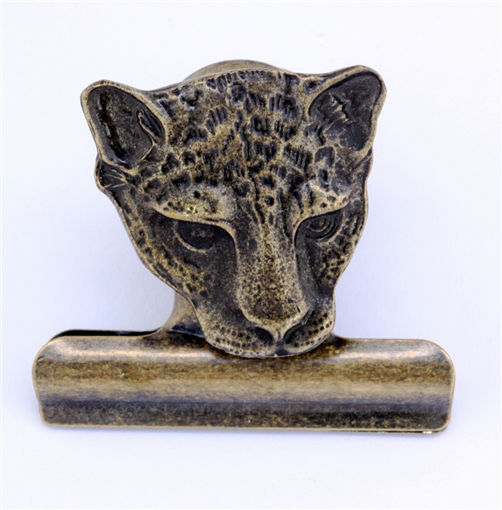 Picture of Bulldog Clip - Cheetah (Magnetic)