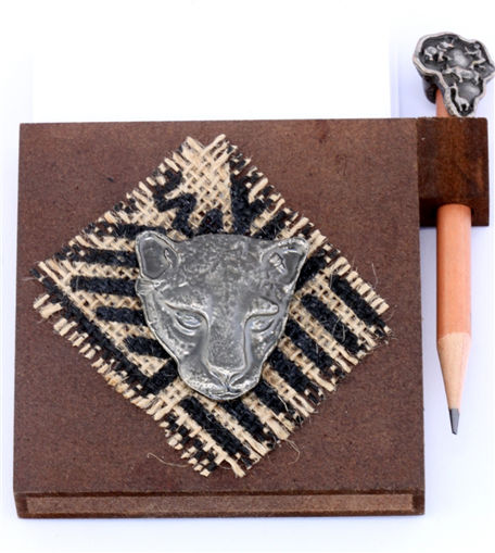 Picture of Paper & Pencil Holder - Cheetah (Magnetic)