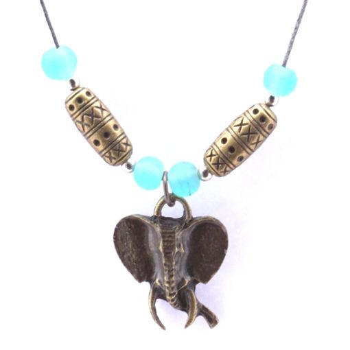 Picture of Choker - Glass & Metal (Elephant Head)