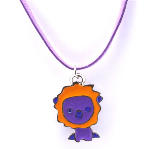 Picture of Children's Choker - Hand Painted (Lion)