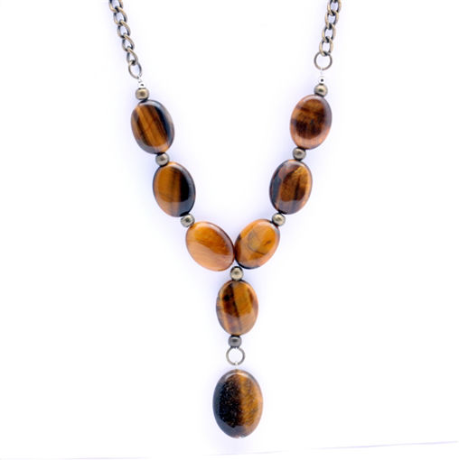 Picture of Necklace - Tigers Eye