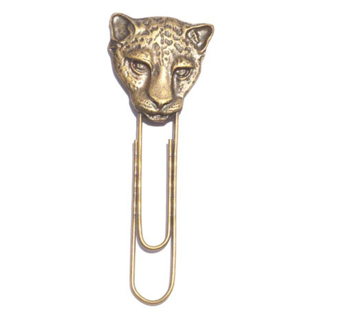 Picture of Paper Clip - Cheetah (Large)