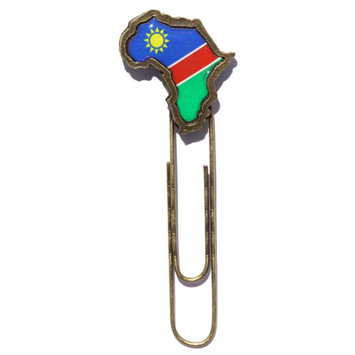 Picture of Paper Clip - Namibian Flag (Large)