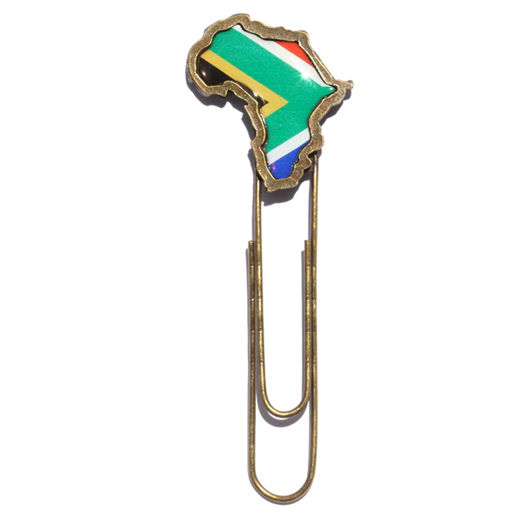 Picture of Paper Clip - SA Flag (Large)
