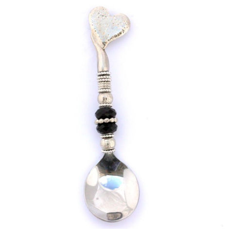 Picture of Sugar Ladle - Beaded (Heart)