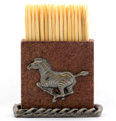 Picture of Table Toothpick Holder - Zebra