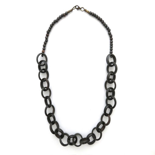 Picture of Necklace - Bone (Dark Brown)