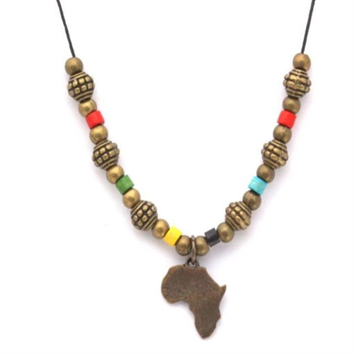 Picture of Choker - Metal & Wood (Africa)