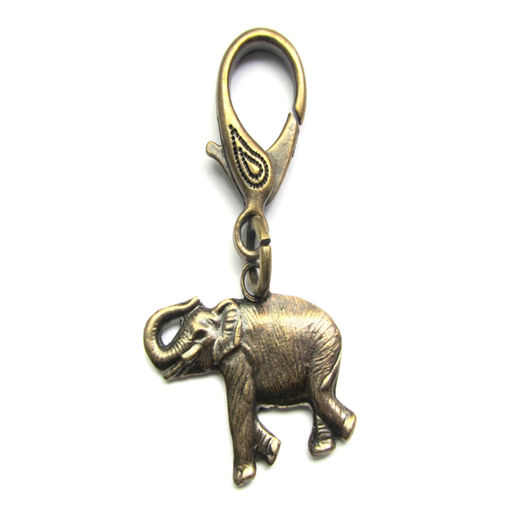 Picture of Zip Puller - Elephant