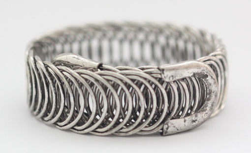 Picture of Bracelet - Metal Wide (Silver Hue)