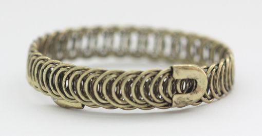 Picture of Bracelet - Metal Slim (Gold Hue)