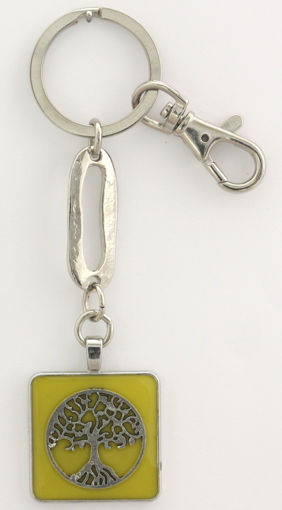 Picture of Key Ring - Tree of Life (Lime)