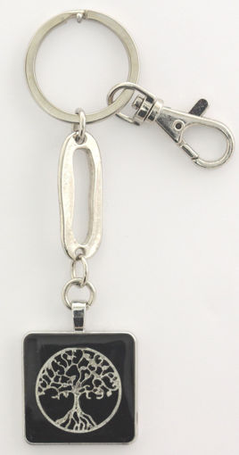 Picture of Key Ring - Tree of Life (Black)