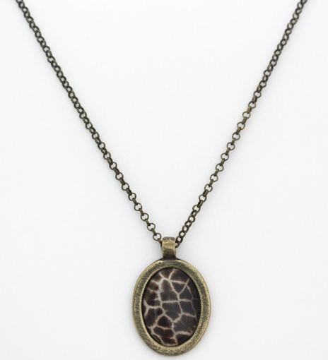 Picture of Necklace - Animal Print (Giraffe)