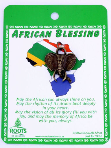 Picture of African Blessing Cards - Elephant (Magnetic)