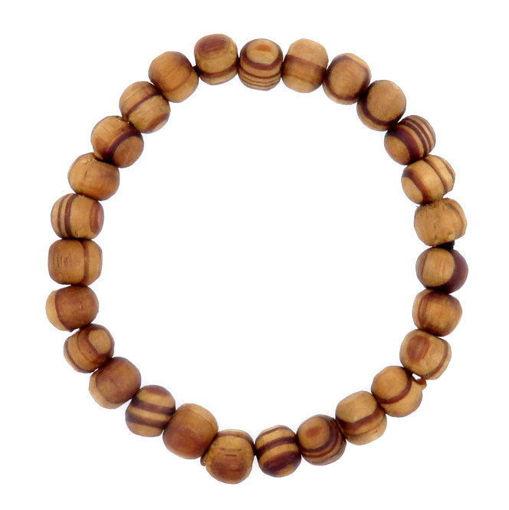 Picture of Bracelet - Wooden  (Tan)
