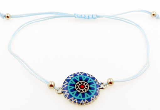 Picture of Bracelet - Enamel (Multi Round)