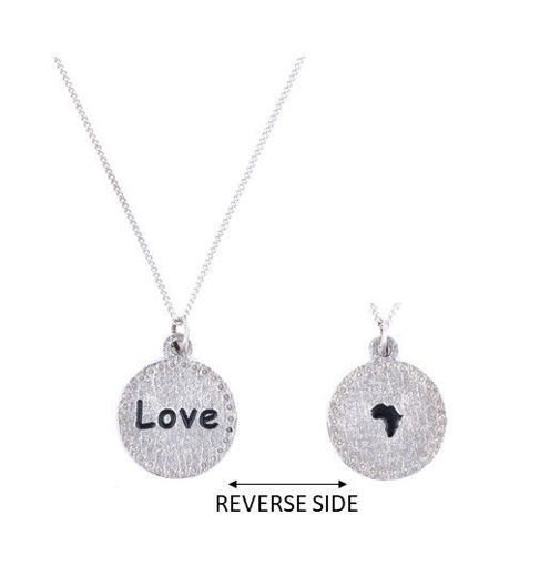 Picture of Choker -  Love / Africa on Chain