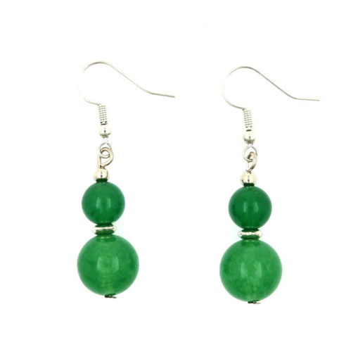 Picture of Earrings - Stone (Aventurine)