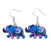 Picture of Earrings - Elephant (Enamel)