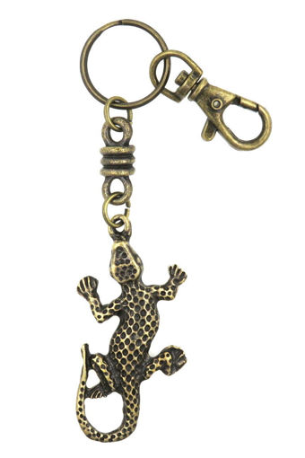Picture of Keyring - Single Ethnic with Clip (Gecko)