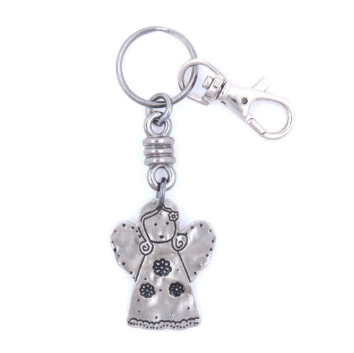 Picture of Key Ring / Clip - Angel