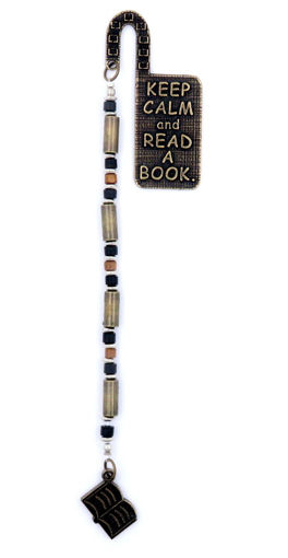 Picture of Bookmark - Quote (Keep Calm and Read A Book.)